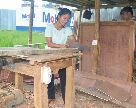 At 21, Sita Sunar runs own furniture business