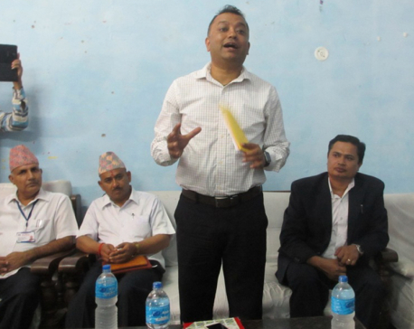 Minister Thapa donates first month's salary to Kanti Children's Hospital