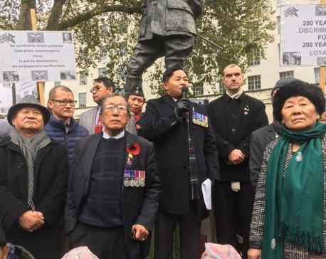 Ex-Gurkha soldiers postpone hunger strike for trilateral talks