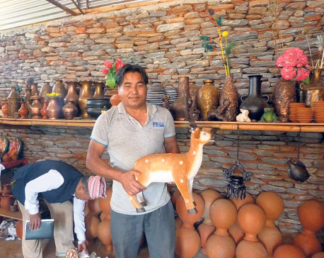 Gulmi potters switch to modern pottery