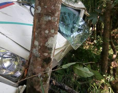 6 injured in Dolakha jeep accident