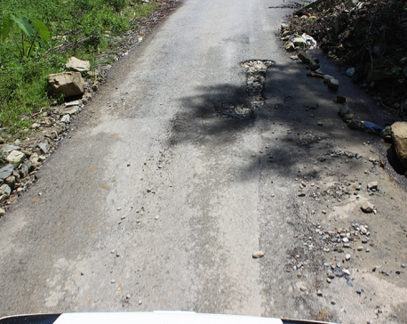 3-km road at the cost of Rs 30m