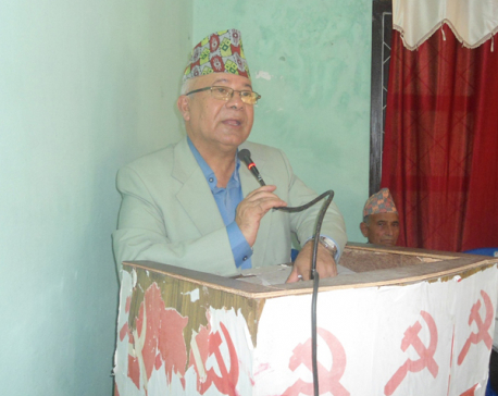 UML is not in favor of constitution amendment, reaffirms Nepal
