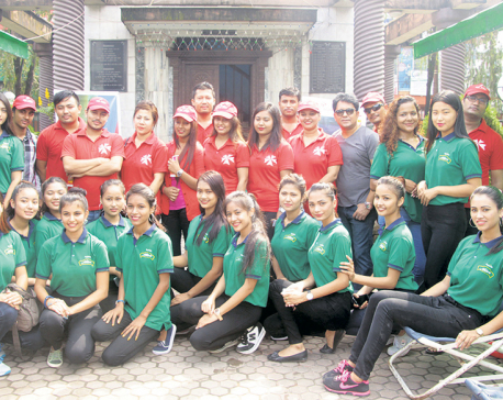 Miss Purbanchal Contestants for Blood Donation