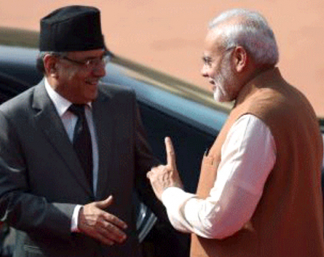PM Dahal requests Modi for exchanging demonetized Indian banknotes