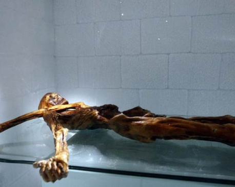Stone Age mummy still revealing secrets, 25 years on
