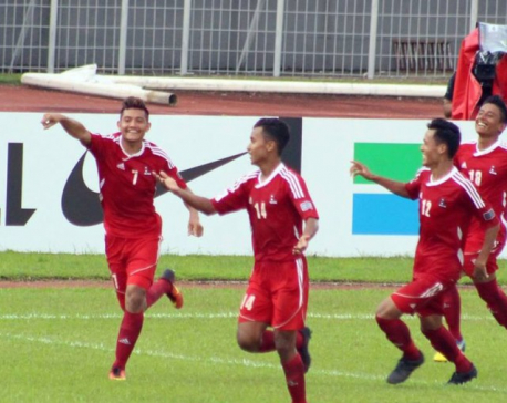 Nepal enters final defeating Laos 3-0 in penalty shootout ( photo/video)