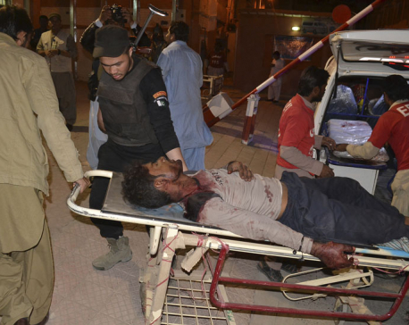Death toll in Pakistan police academy attack rises to 59