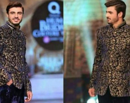 Famous Pakistani 'chaiwala' walks the ramp