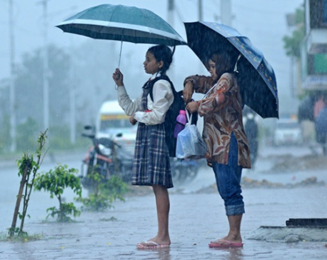 Monsoon arrives, on time after nine years
