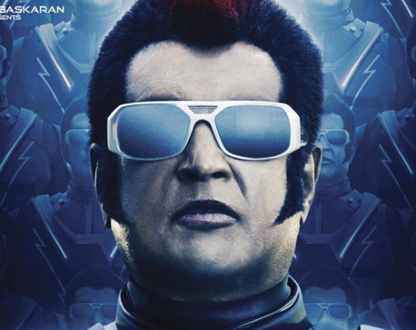 2.0 first look: Rajinikanth returns in his robot getup