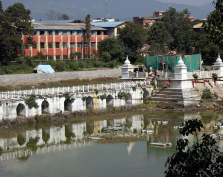 Concrete used in reconstruction of Ranipokhari to be removed within week