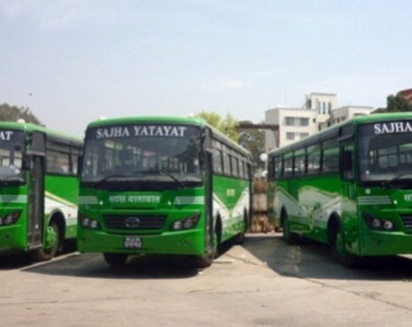 Sajha extends Swoyambhu-Suryabinayak bus route to Sanga