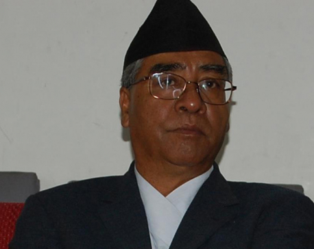 Deuba leans on EC to relax election code of conduct