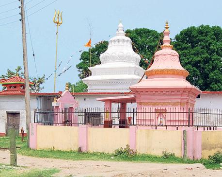 Neglect Shrouds Padma Prakashwar Mahadev Temple