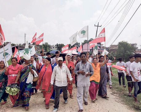 Election fever grips Jitpur, Simara