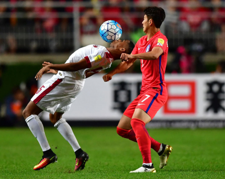 Super Son fires 10-man South Korea past Qatar