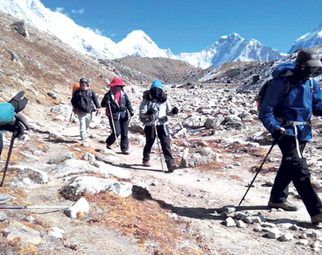Tourists entering Nepal from Rasuwagadi soars
