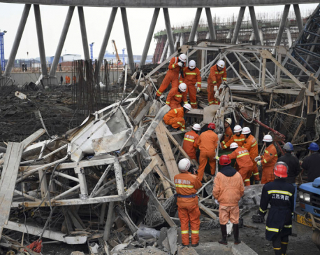 At least 67 killed in east China scaffolding collapse (Update)