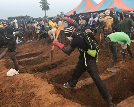 Sierra Leone mudslides death toll now above 400, UN says