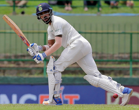 India 235-3 at tea on Day 1 of 3rd test vs. Sri Lanka