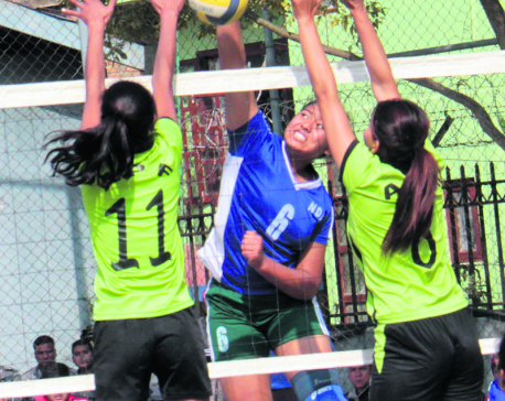 APF volleyball semifinals line-up complete
