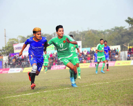 Army advances into Jhapa semifinals