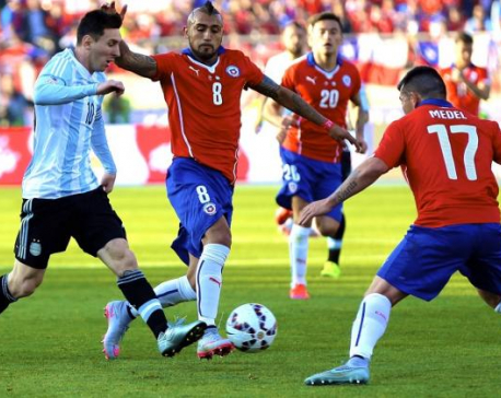 Messi, Argentina face Chile in Copa America final rematch