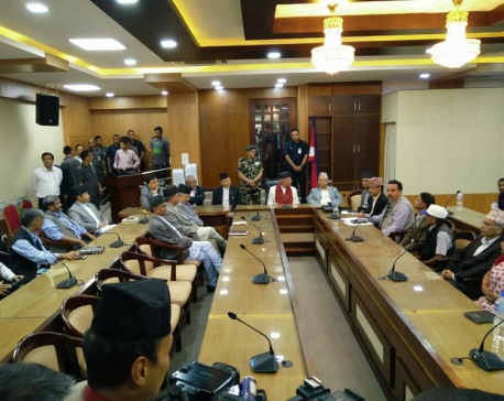 Talks between govt, 33-party alliance end 'positively'