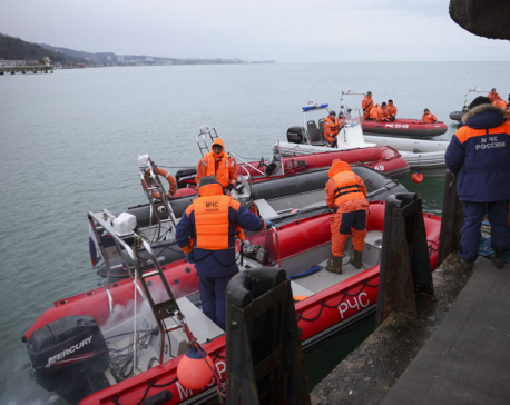 Rescuers find flight recorder from Black Sea plane crash