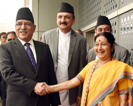 Dahal holding one-on-one with Modi today