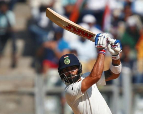 India close in on victory after Kohli's third double ton