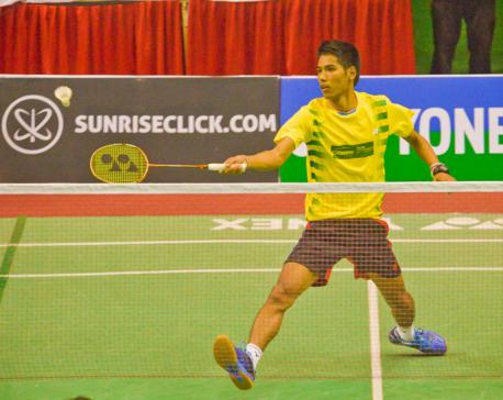 Nepal's challenge ends in badminton