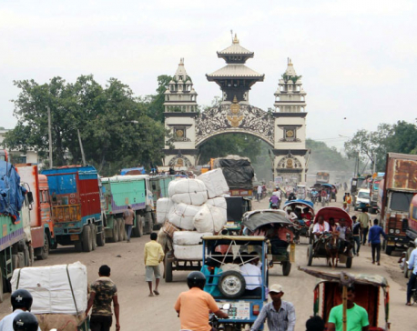 Trade through Birgunj resumes as Raxaul locals call off protest