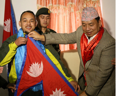 Pandit to hoist Nepali flag in Antarctica