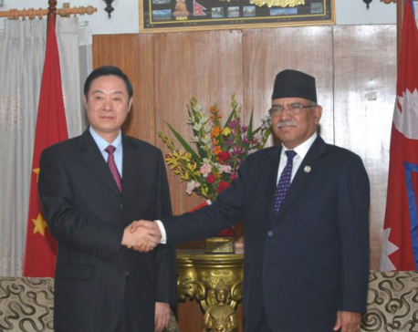 PM inquires about expansion of Chinese rail network to Nepal