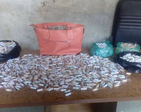 Police bust drug smuggling gang, arrest 4 Indian nationals