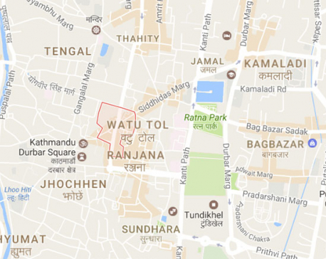 Fire breaks out at a house in Indra Chowk (with video)