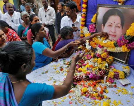 Tamil Nadu names successor as thousands mourn charismatic leader Jayalalithaa