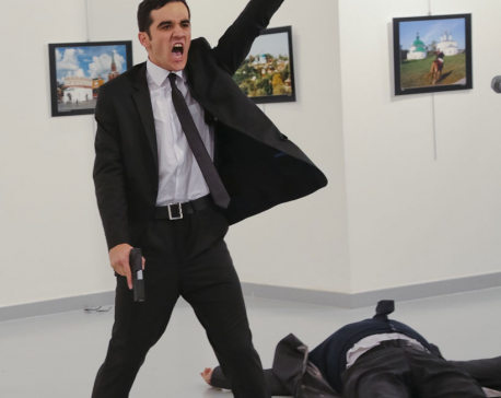 Witness to an assassination:  A photographer captures attack