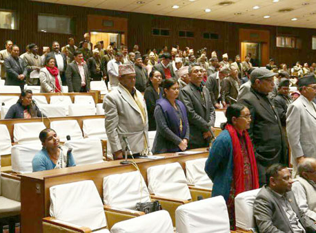 Opposition parties decide to obstruct today's House meeting