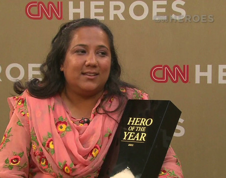 Pushpa Basnet nominated for CNN Super Hero