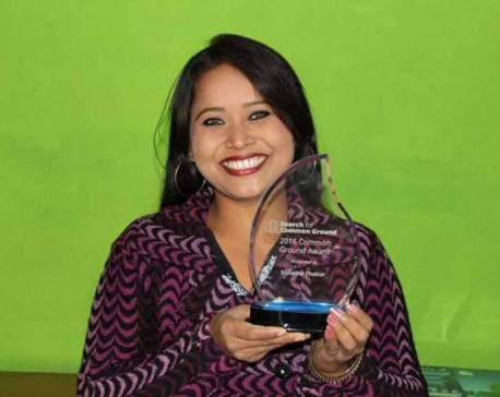 Sunaina bags int'l award for Mithila Art