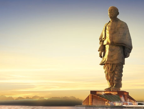 India begins building world's tallest statue at cost of $530 m