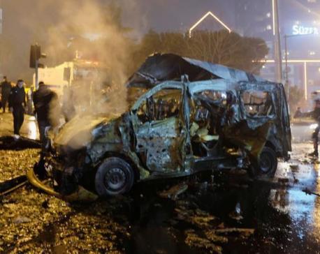 Turkey says Kurdish militants may be behind deadly soccer bombing