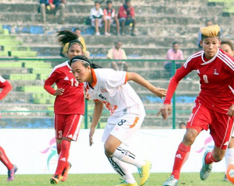 Nepal hammers Bhutan by 8-0 (photo feature)