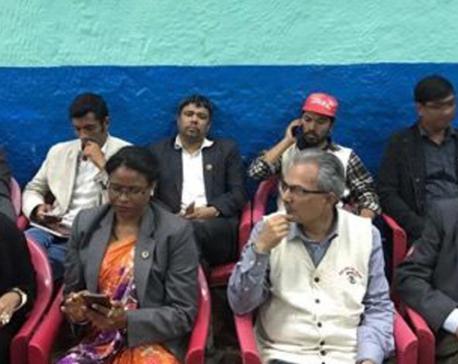 Naya Shakti continues sit-in indefinitely  amid police arrest