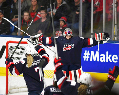 US beats Russia 7-0 at women's hockey world championships