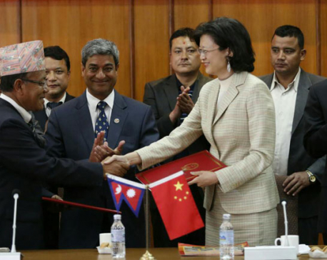 China, Nepal exchange certificate for handover of Araniko Highway Maintenance Project