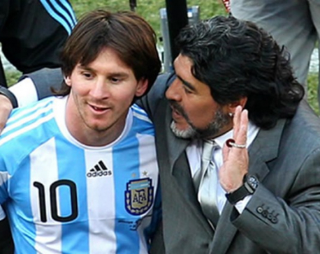 Fans, president, Diego Maradona want Messi to reconsider international retirement